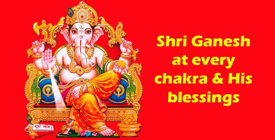 Shri Ganesh At Every Chakra His Blessings Spreading Sahaja Yoga